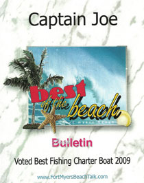 Best Fishing Charter Boat on Fort Myers Beach for 2009